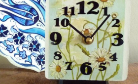 Wildflower Desk Clock Collection