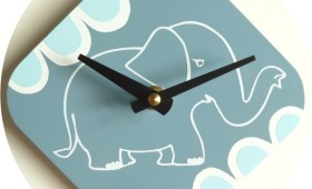 5 x 5 Elephant Clocks